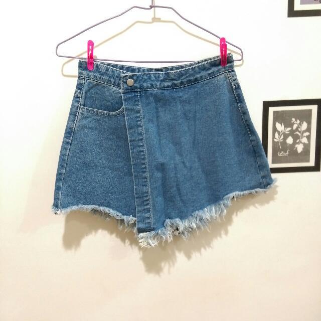 牛仔褲裙 短褲  #三百元牛仔