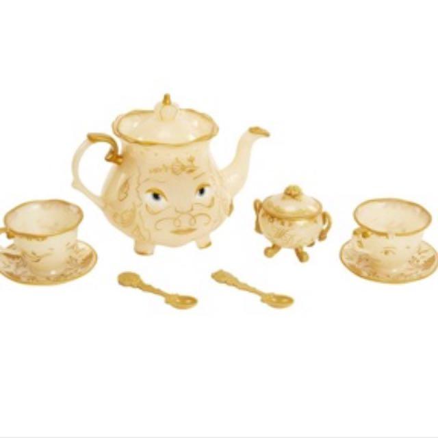 美女與野獸 茶壺 茶煲太太 茶杯太太 阿奇杯 茶壺組