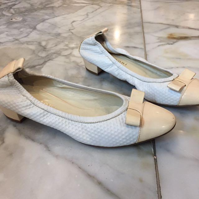 A. Testoni Flat Shoes