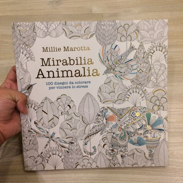 Adult Coloring Book - Animalia