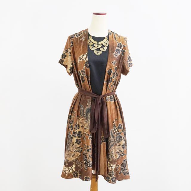 Anjani Dress - Terusan Batik Wanita