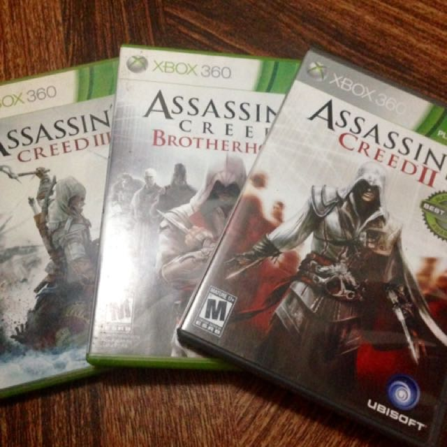 Assassin's Creed Xbox 360 Games