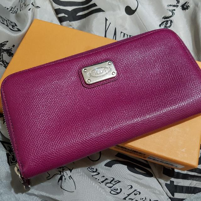 Authenic Tod's Wallet