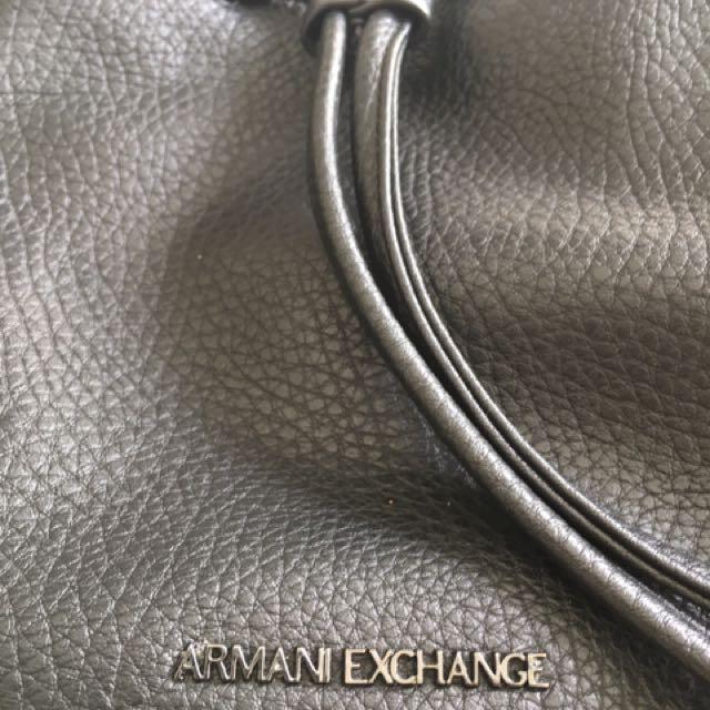 Authentic Armani Exchange Leather Hand Bag