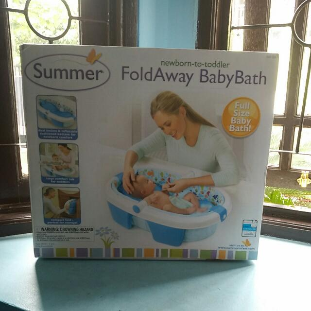 Baby Bath Fold Away Summer