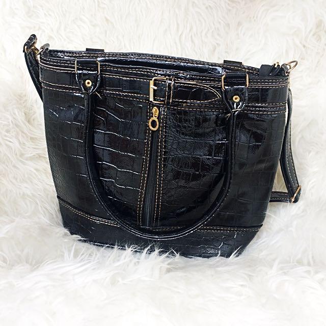 Bag Black Leather