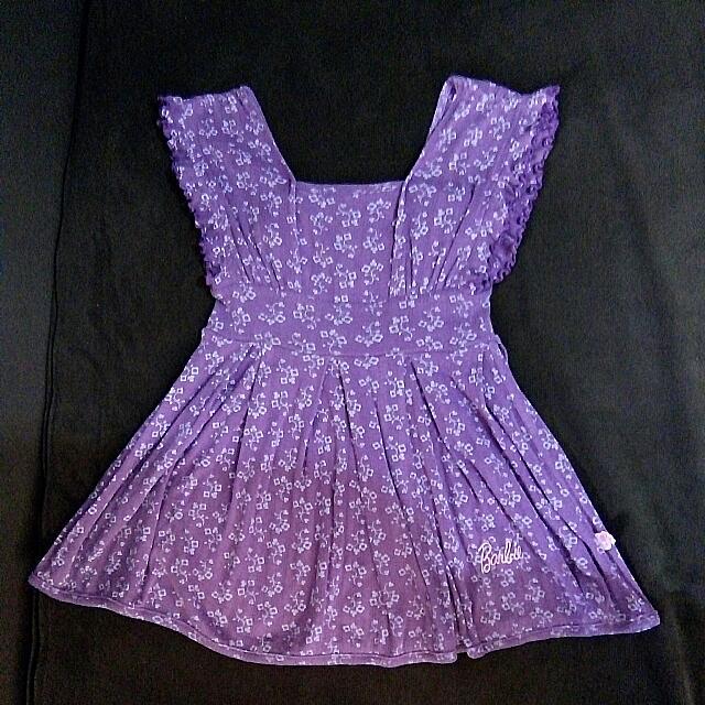 Barbie purple dress