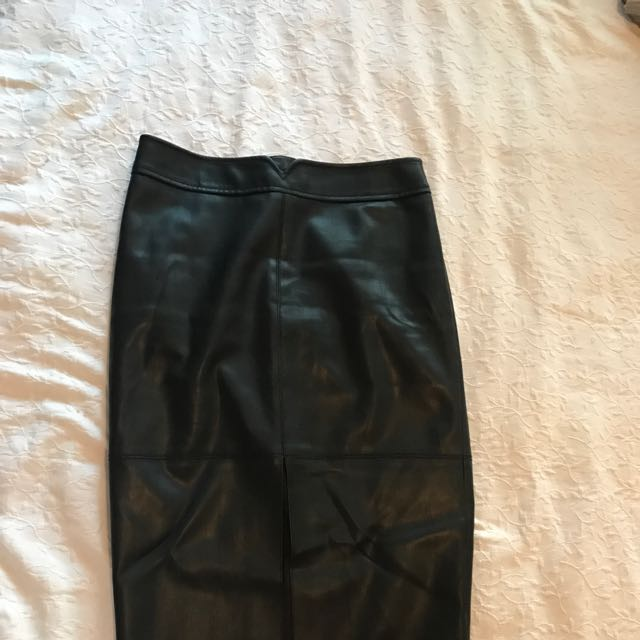 Bardot Leather Skirt S10