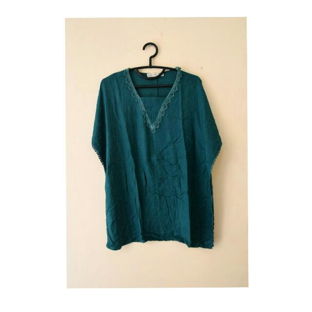 Batwing Blouse By Head Hand Heart
