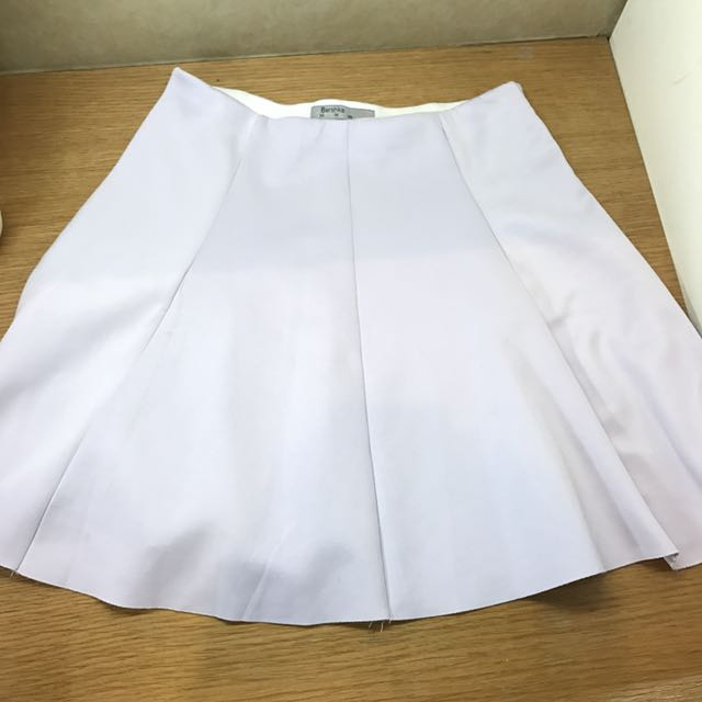 BERSHKA Light purple mini skirt