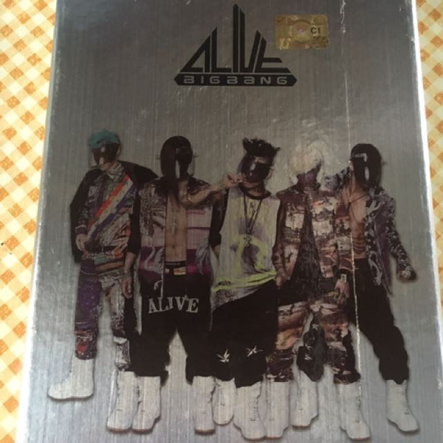 Bigbang Alive Album Tour (From Korea)