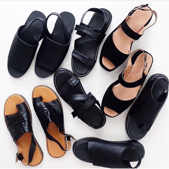 Black Wedges Shoes