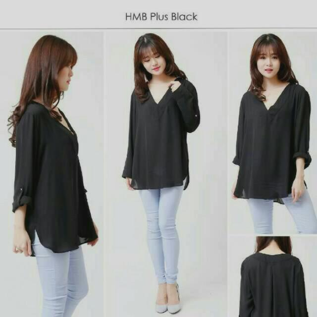 BLOUSE BIG SIZE H&M SIZE XL