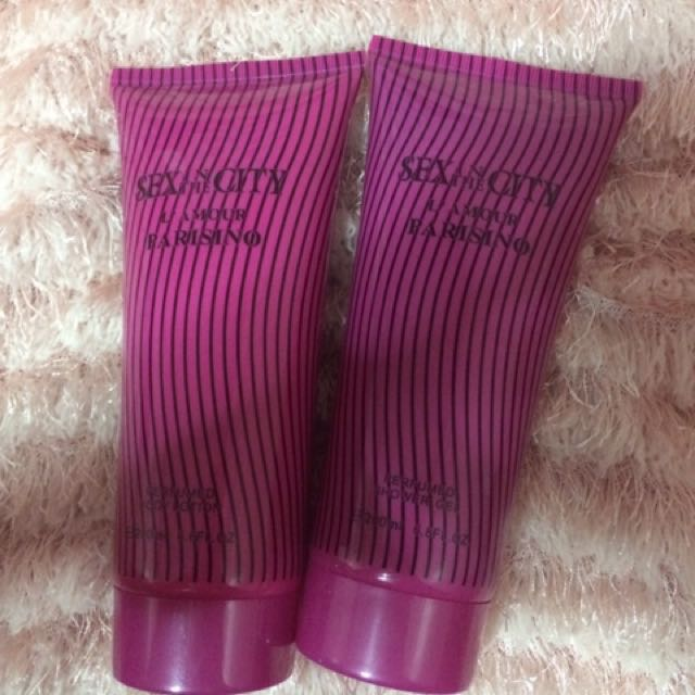 Body Lotion and Shower Gel