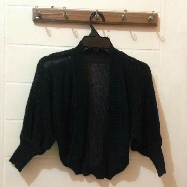 Bolero Black Size S Ft To L