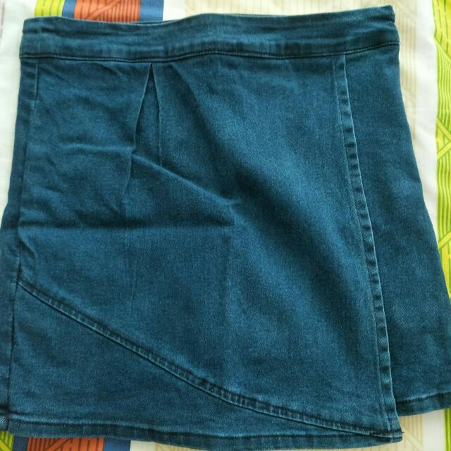Denim Skort BN (Brand New)