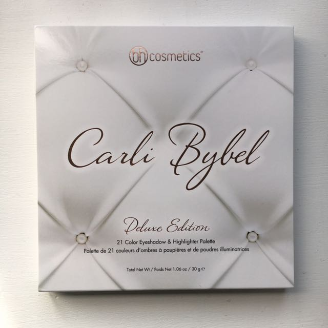 Carli Bybel Deluxe Edition Eyeshadow Palette