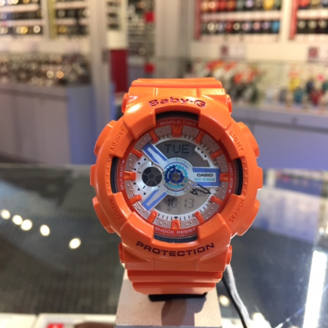 Casio Baby G Ba 110sn 4a Watch Womens Fashion Watches On Carousell 112