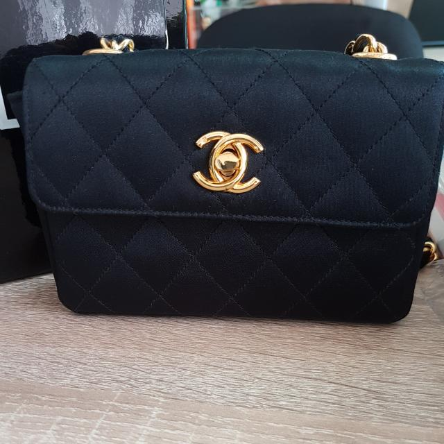 184bb4f58b9a Chanel Vintage Mini Classic Flap Bag, Luxury, Bags & Wallets on ...