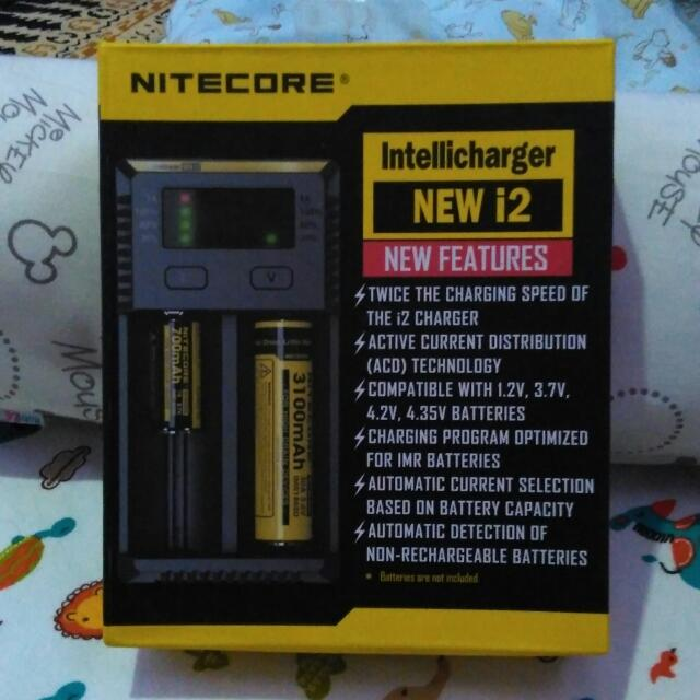Charger Battery Nitecore For Vape