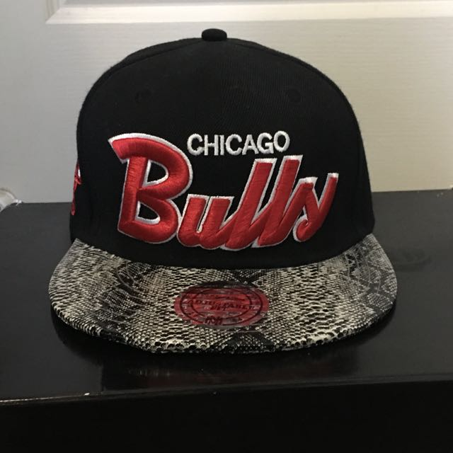 Chicago Bulls StrapBack Leather
