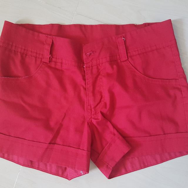 Colored Short Pants