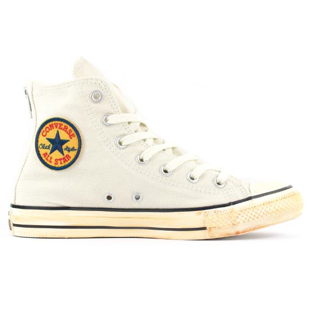 size 40 4e035 a9e4a Converse All Star Chuck Taylor Vintage Back Zip Hi s, Men s Fashion,  Footwear on Carousell