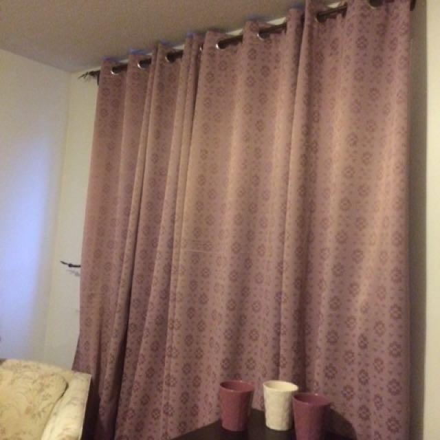 Curtain / Rideau (4 panels / 4 panneaux)