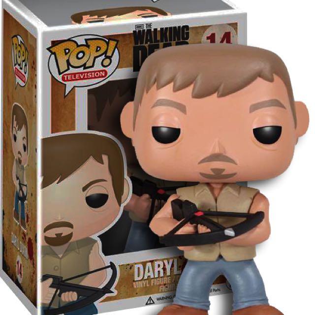 Daryl Dixon Pop Vinyl