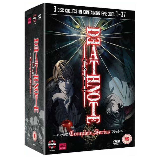 DEATH NOTE: Complete Collection (9-Discs) DVD BOX SET - Anime