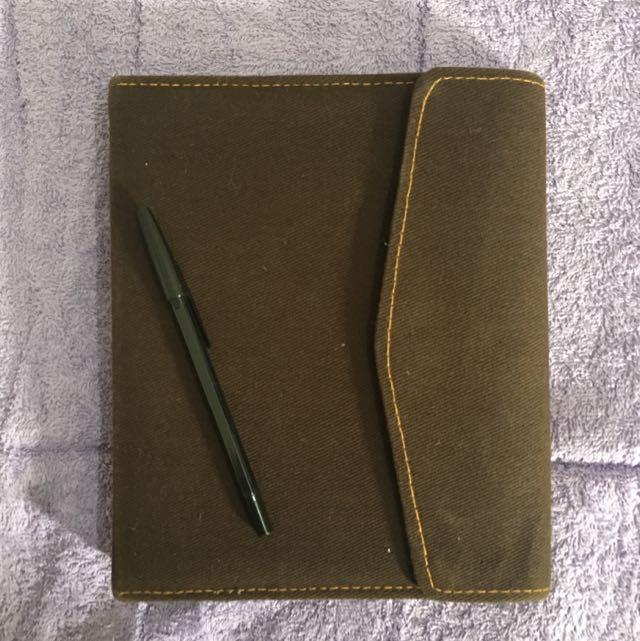 Denim Executive Planner/notes