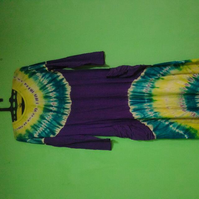 Dress Jumputan