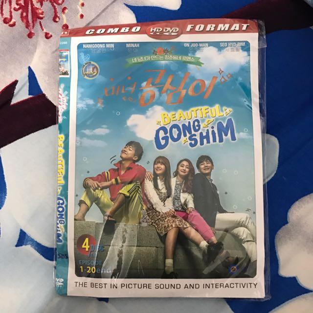 DVD K-drama : Beautiful Gong Shim