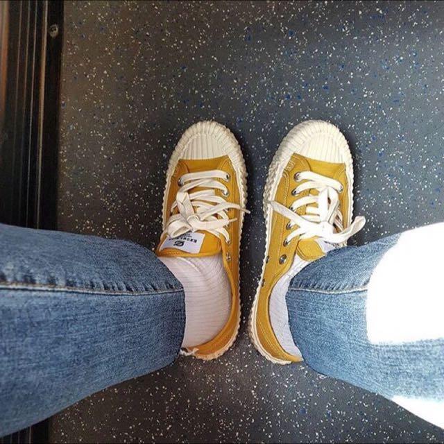 正韓現貨excelsior 膠底鞋