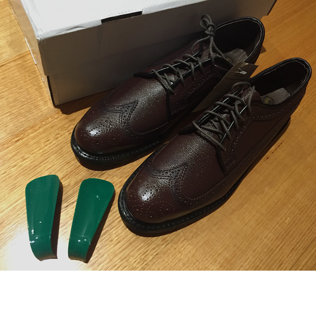 Executive Imperials US8 Brown Wingtip Oxford Dress Shoes