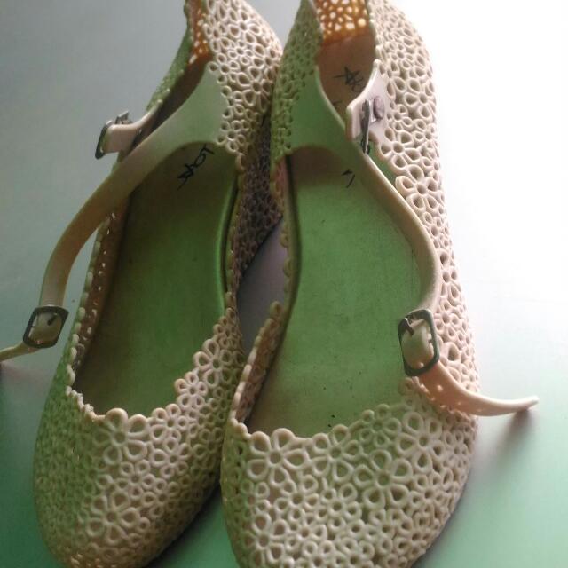 Flower Jelly Heels