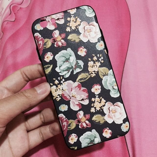 Flowers Case iPhone 6/6s (softcase)