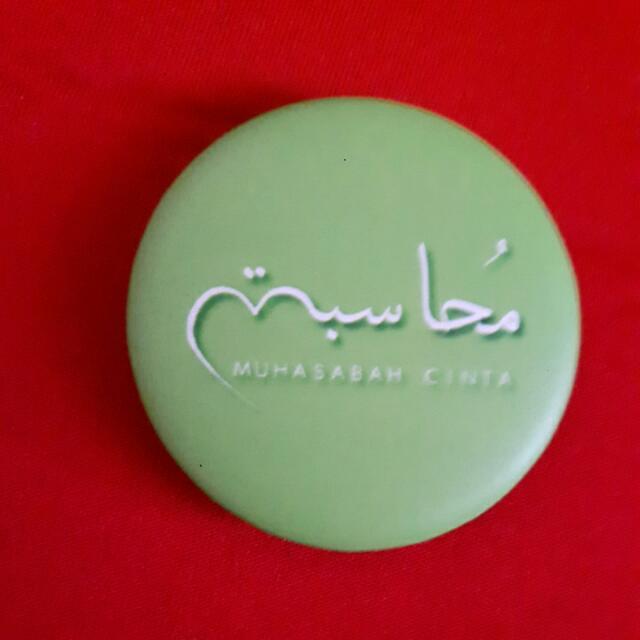 [Free] Muhasabah Cinta Badge