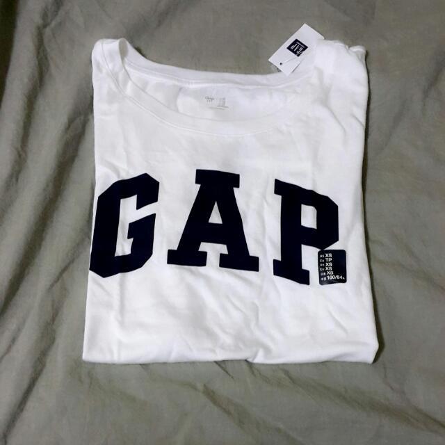 (保留)美國GAP經典logo短袖綿T恤