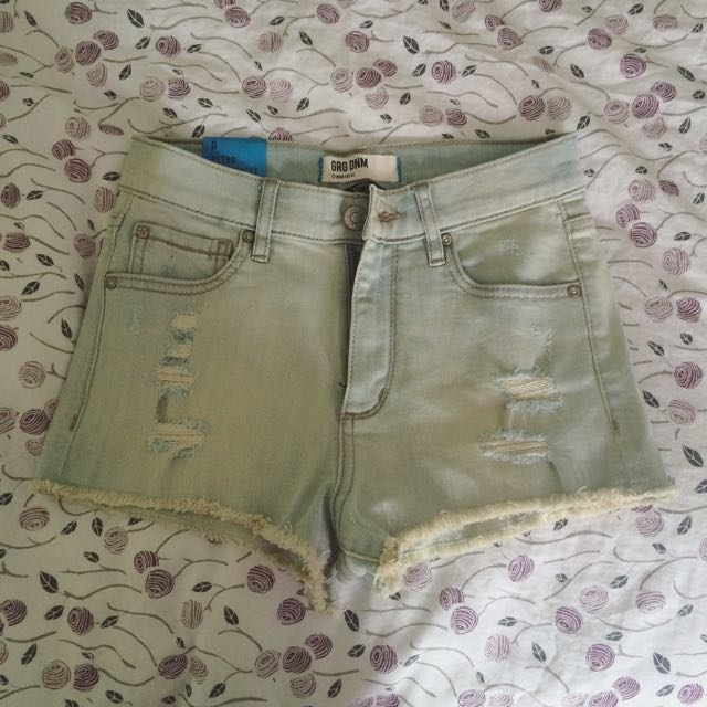 Garage High Waisted Shorts Size 0
