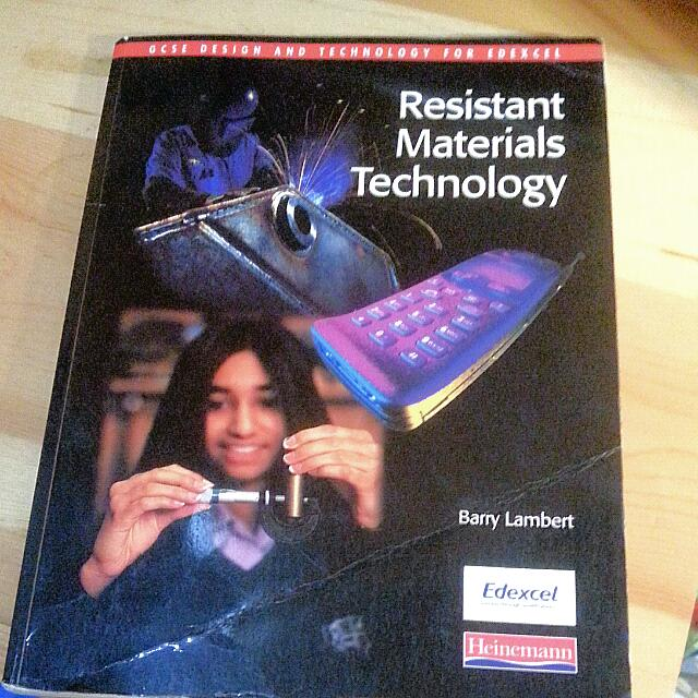 GCSE Design & Technology - Resistant Materials