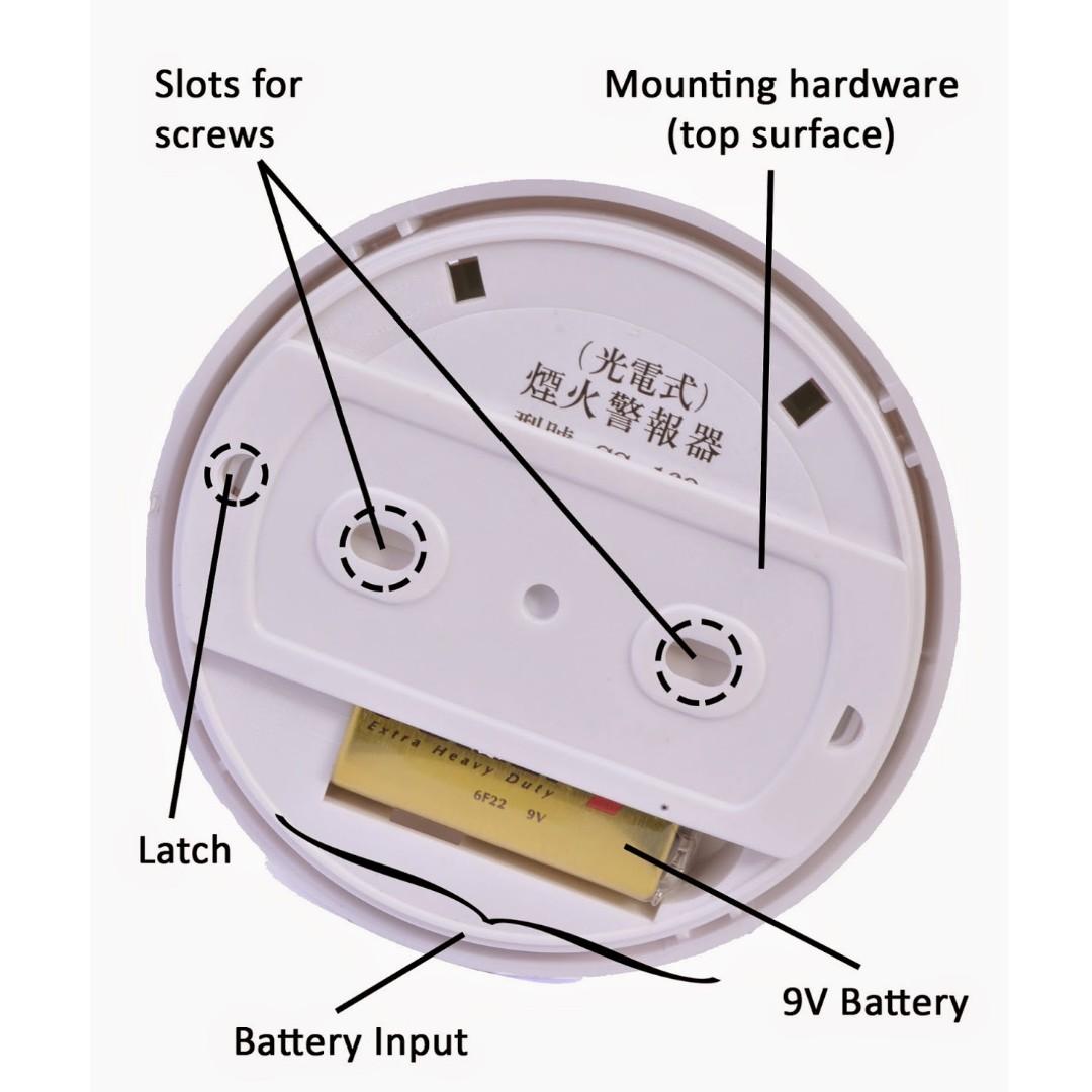 General Purpose Smoke Detector Alarm