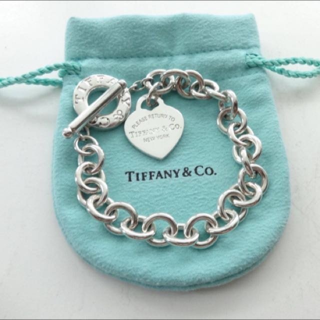 Genuine Tiffany & Co Tag Toggle Bracelet