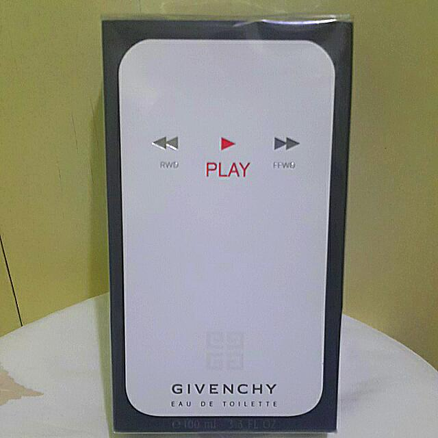 Givenchy PLAY Eau De Toilette 100ml