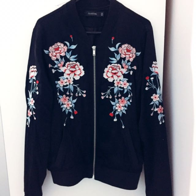 Glassons Floral Bomber
