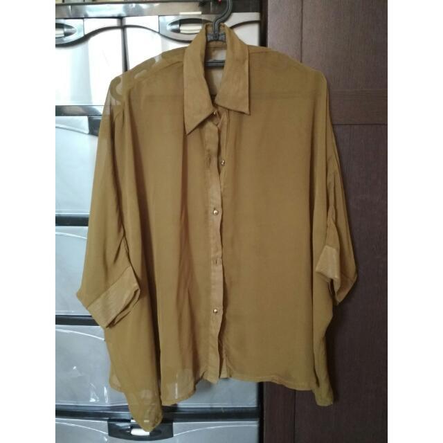 Green Transparant Shirt