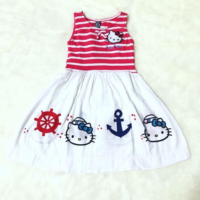 Hello Kitty Dress By Zara Kids
