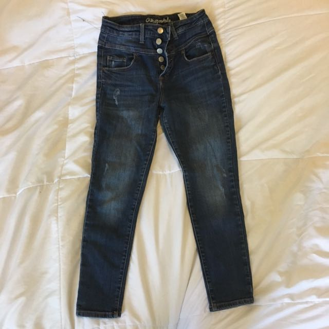 PRICE DROP❗️High Rise Cropped Jeans