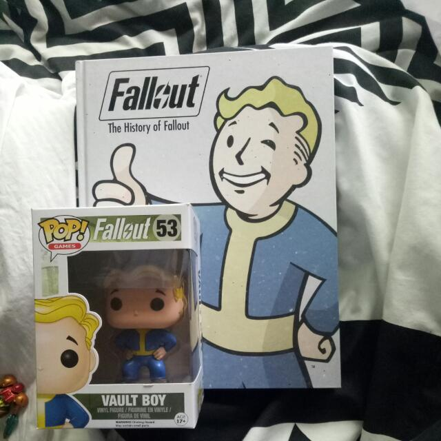History of Fallout and Vault Boy Pop Vynl
