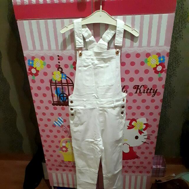 H&M Fashion White Jumpsuit